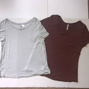 H&M & Active USA bundle tees